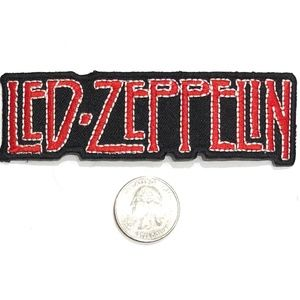 Led Zeppelin patch iron on band rock badge DIY